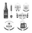 Craft beer vector image vector image