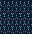 indigo blue diamond stripes seamless vector image