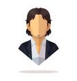 mexican men avatar vector image