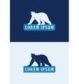 Polar Bear Logo Template vector image vector image