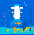 Sea robot researcher flat