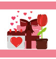 valentines day love vector image