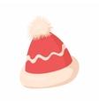 Winter hat icon cartoon style vector image vector image