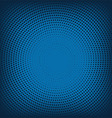 abstract background from blue halftone vector image