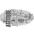 attitude adjustment nine ways to transform you vector image vector image
