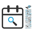Audit Day Flat Icon With Bonus vector image vector image