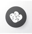 beans icon symbol premium quality isolated vector image