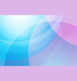 blue and pink abstract background vector image vector image