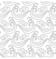 ocean waves seamless pattern vector image vector image