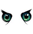 owl eyes animal isolated vector image vector image