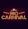 rio carnival background carnival vintage vector image vector image