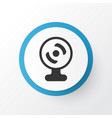 webcam icon symbol premium quality isolated web vector image vector image