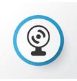 webcam icon symbol premium quality isolated web vector image