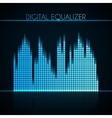 Digital equalizer vector image