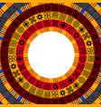 african adinkra background vector image