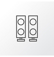 amplifier icon symbol premium quality isolated vector image