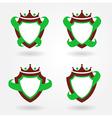blazon design set vector image vector image