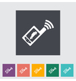 Car remote control icon vector image vector image