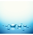 Drops Background vector image vector image