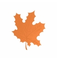 Maple leaf icon cartoon style vector image vector image