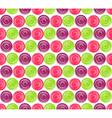 Seamless Bright Abstract Hypnotic Circles Pattern vector image