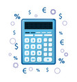 the calculator icon can be used as an icon of vector image vector image