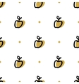 Artistic apple seamless pattern Trendy fashion vector image vector image