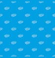 boom explosion bubble pattern seamless blue vector image