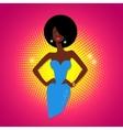 Disco girl vector image vector image