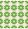 Floral seamles pattern vector image