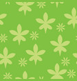 flower pattern seamless vector image vector image
