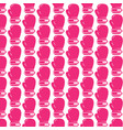 pattern background boxing glove icon vector image