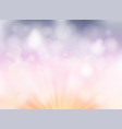 abstract soft light bokeh pastel color background vector image vector image