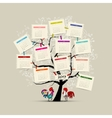 Calendar tree 2017 for your design vector image vector image
