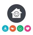 Comedy club Smile icon Happy face symbol vector image vector image