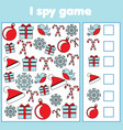 i spy game for toddlers find and count objects vector image vector image