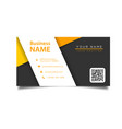 modern business card template image vector image vector image