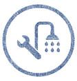plumbing fabric textured icon vector image vector image