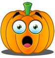 Pumpkin Face - 1 vector image vector image
