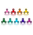 Set of spinners relaxing trend toy for children