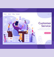 web site upgrade and new features concept vector image