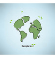 world texture vector image vector image