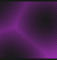 Abstract halftone dot pattern background from