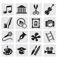 Art Culture icon vector image vector image