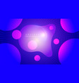 liquid colors abstract futuristic background vector image vector image