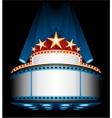 Movie premiere vector image vector image
