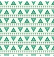 Pattern of striped triangles vector image vector image