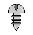 screw tool repair maintenance and construction vector image
