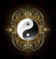 symbol yin yang vector image