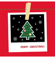 Christmas greeting card23 vector image vector image